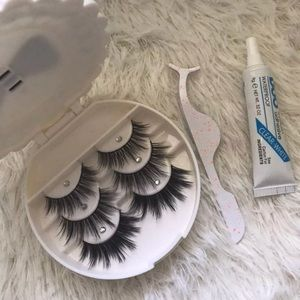 Other - Mink lashes + Case + Glue + Applicator